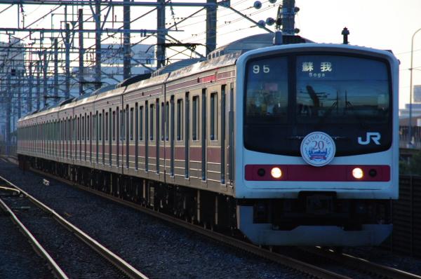 2010年7月15日 京葉線  1795A ケヨ6 新習志野