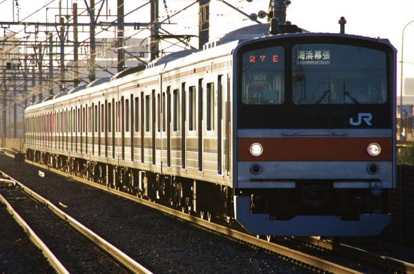 2010年7月15日 京葉線  1727E M34 新習志野