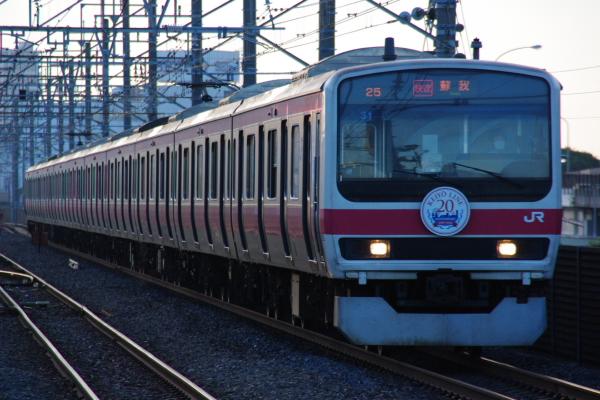 2010年7月15日 京葉線  1725A ケヨ31 新習志野