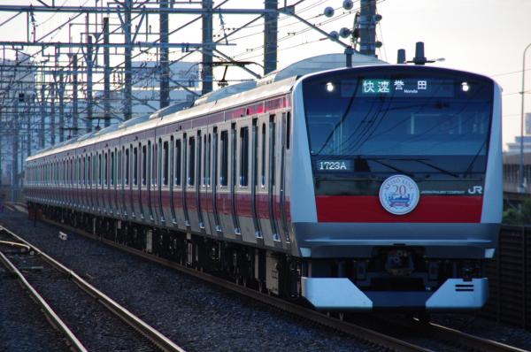 2010年7月15日 京葉線  1723A ケヨ502 新習志野
