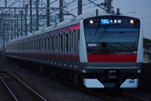 2010年7月16日 京葉線 ケヨ507 新習志野