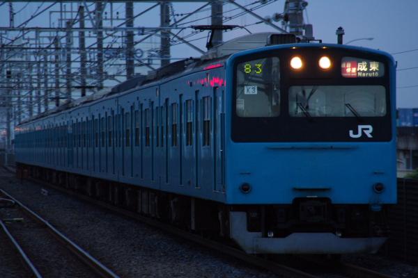2010年7月16日 京葉線  ケヨ53+K3