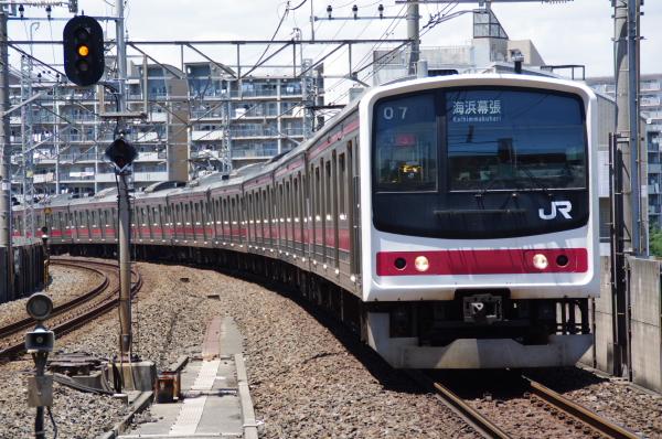 2010年7月17日 京葉線 TDR臨 1207Y ケヨ3