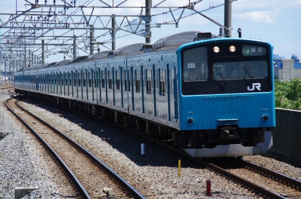 2010年7月17日 京葉線 TDR臨 1182A ケヨ52+K2