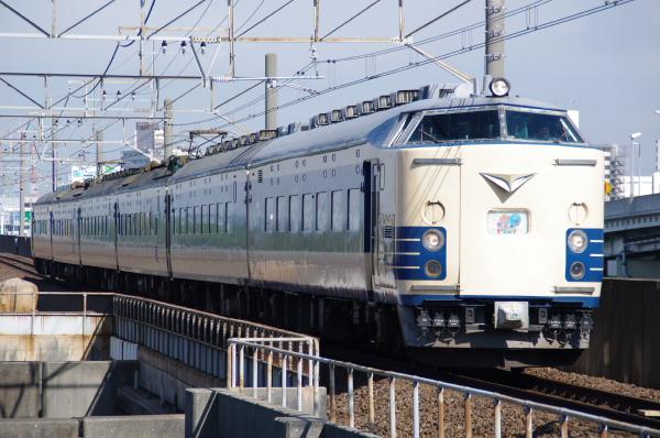 2010年7月17日 京葉線 TDR臨 583系