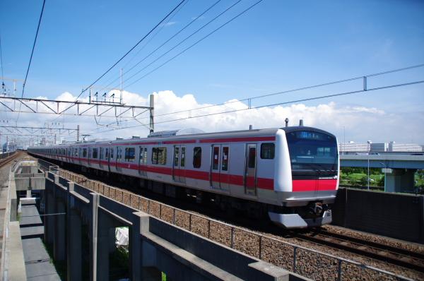 2010年7月17日 京葉線 TDR臨 前代未聞