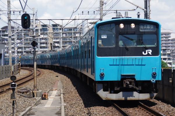 2010年7月17日 京葉線 TDR臨 1085Y ケヨ53+K3