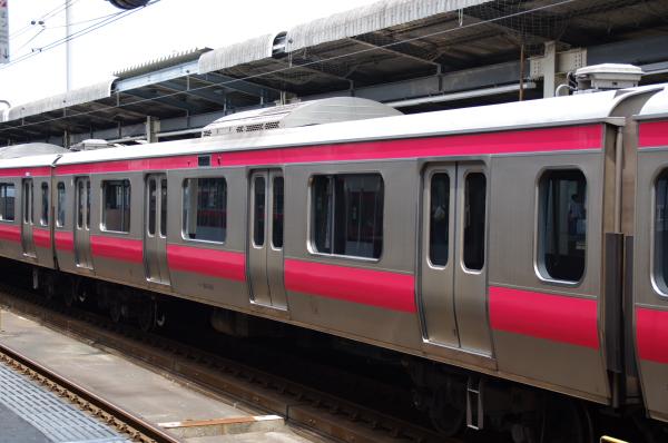 2010年7月20日 京葉線 209系長野配給 広告なし