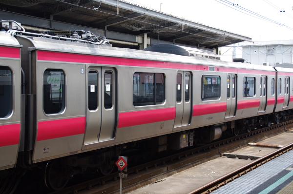 2010年7月20日 京葉線 209系長野配給 広告あり