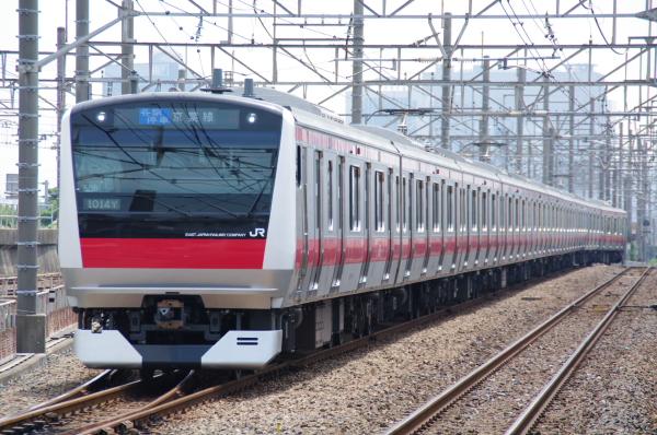 2010年7月20日 京葉線 209系長野配給 ケヨ506