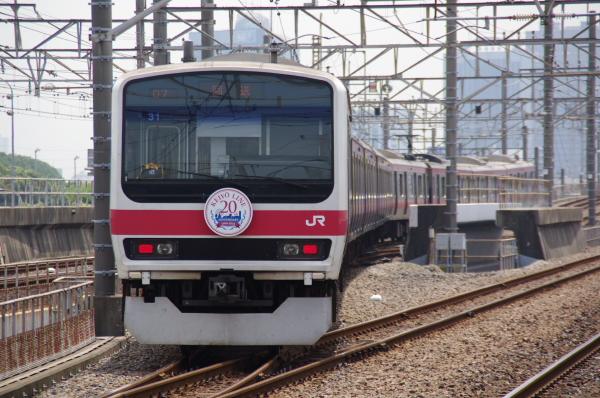 2010年7月20日 京葉線 209系長野配給 ケヨ31 回送