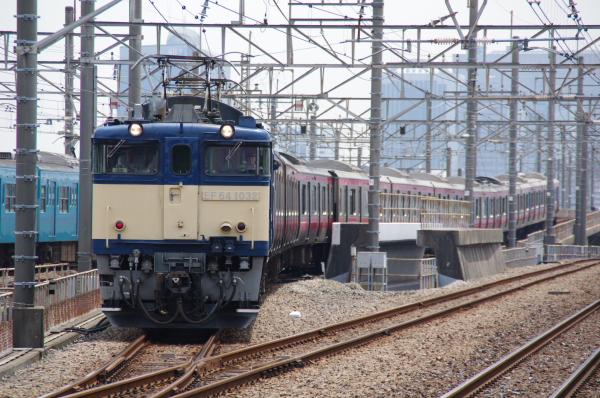 2010年7月20日 京葉線 209系長野配給 出庫