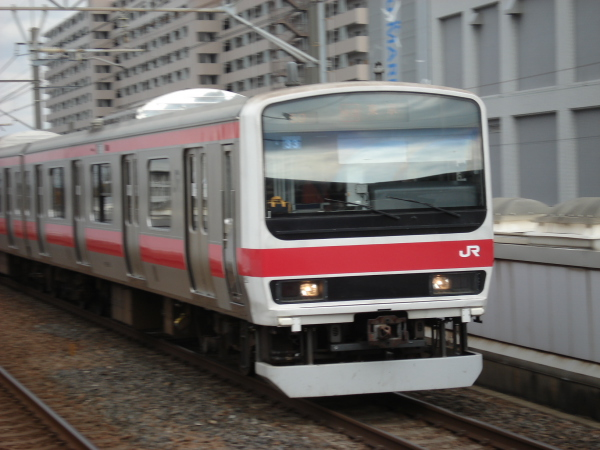 2008年11月~12月 京葉線 ケヨ33