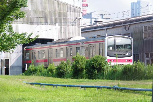 2010年7月22日 京葉車両センター ケヨ11夕1