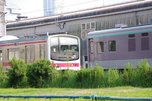 2010年7月22日 京葉車両センター 連結準備