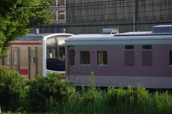 2010年7月22日 京葉車両センター 連結準備2