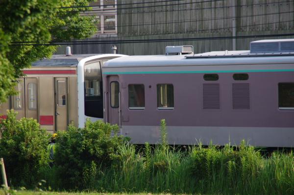 2010年7月22日 京葉車両センター 連結