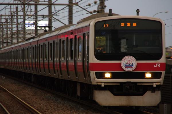 2010年7月29日 京葉線 0ケヨ31