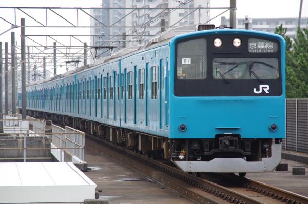 2010年7月31日 京葉線 白い砂 TDR臨 ケヨ51 海浜幕張