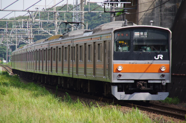 2010年7月31日 京葉線 白い砂 TDR臨 M18 船橋法典