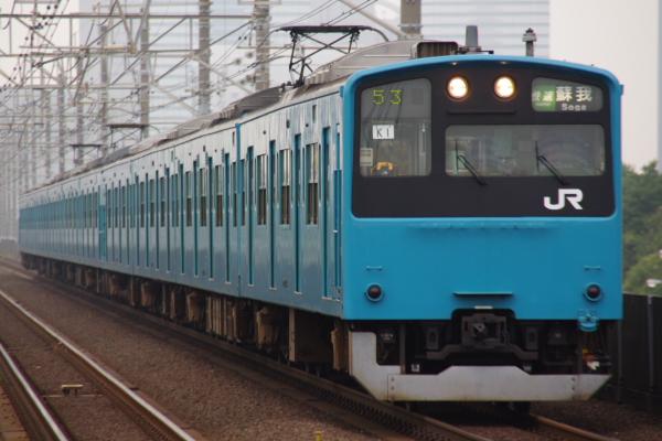 2010年7月31日 京葉線 白い砂 TDR臨 K1 検見川浜
