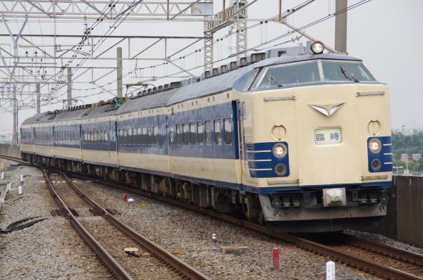 2010年7月31日 京葉線 白い砂 TDR臨 583系 葛西臨海公園