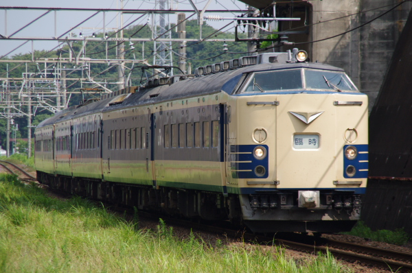 2010年7月31日 京葉線 白い砂 TDR臨 583系 船橋法典