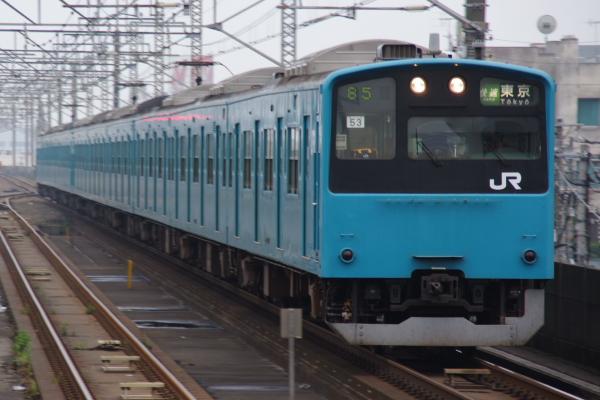 2010年7月31日 京葉線 白い砂 TDR臨 ケヨ53 千葉みなと