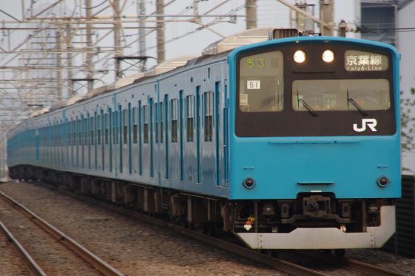 2010年7月31日 京葉線 白い砂 TDR臨 ケヨ51 新習志野