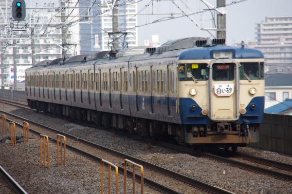 2010年7月31日 京葉線 白い砂 TDR臨 白い砂1号