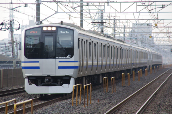 2010年7月31日 京葉線 白い砂 TDR臨 Y109