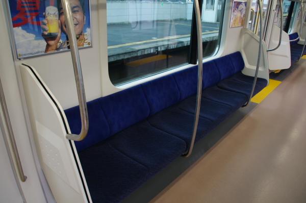 2010年7月31日 京葉線 白い砂 TDR臨 7人がけ