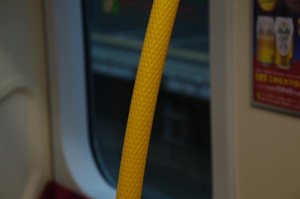 2010年7月31日 京葉線 白い砂 TDR臨 手すり