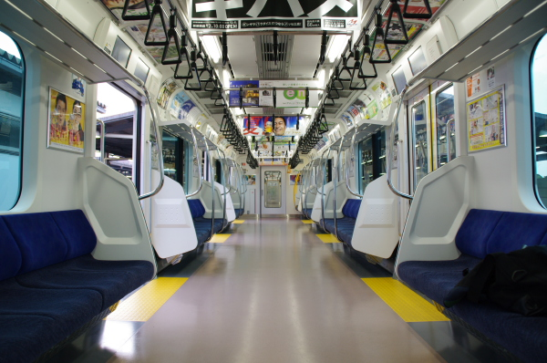 2010年7月31日 京葉線 白い砂 TDR臨 車内