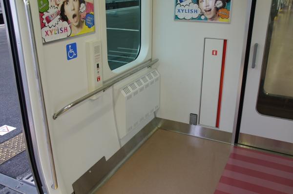 2010年7月31日 京葉線 白い砂 TDR臨 車椅子