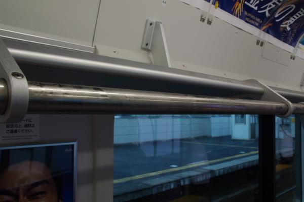 2010年7月31日 京葉線 白い砂 TDR臨 結露