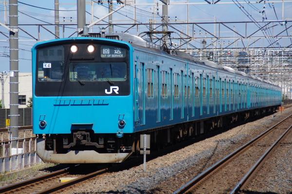 2010年8月5日 京葉線 ケヨ54+K4 新習志野