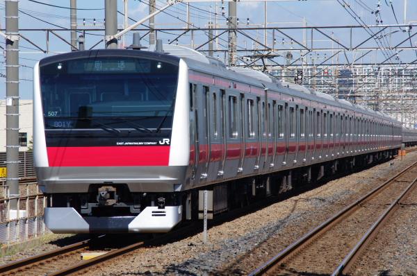 2010年8月5日 京葉線 ケヨ507 新習志野