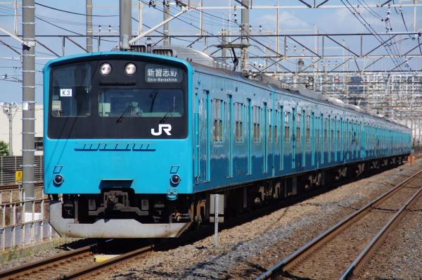 2010年8月5日 京葉線 ケヨ53+K3 新習志野