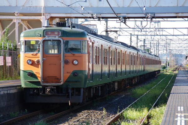 2010年8月5日 京葉線 湘南色10連 後打ち 本納