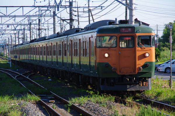 2010年8月5日 京葉線 湘南色10連 マリ117+マリS62 本納