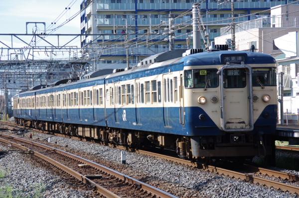 2010年8月5日 京葉線 湘南色10連 マリ106+マリ102