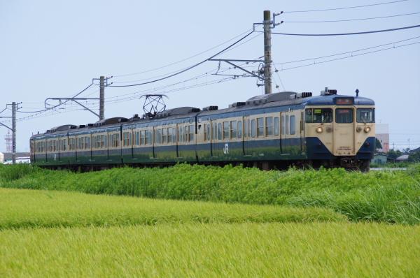 2010年8月8日 白い砂 外房・東金線 マリS224 大網-福俵