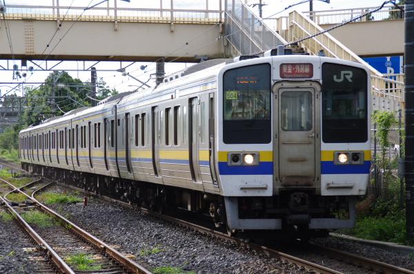 2010年8月8日 白い砂 外房・東金線 マリ504 誉田