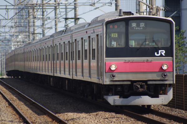 2010年8月17日 京葉線 ケヨ508配給 ケヨ26