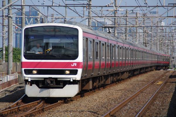 2010年8月17日 京葉線 ケヨ508配給 ケヨ34