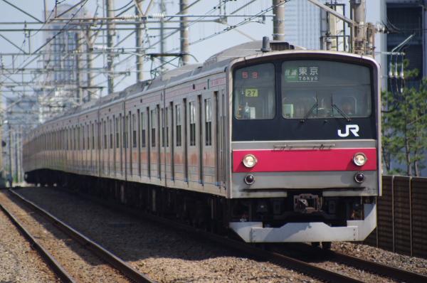 2010年8月17日 京葉線 ケヨ508配給 ケヨ27