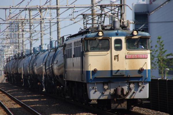 2010年8月17日 京葉線 ケヨ508配給 EF65