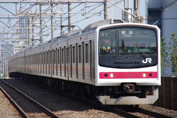 2010年8月17日 京葉線 ケヨ508配給 ケヨ3