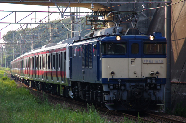 2010年8月17日 京葉線 ケヨ508配給